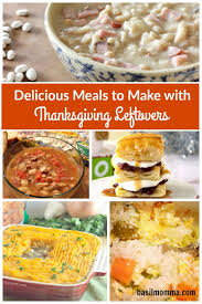 delicious recipes using thanksgiving leftovers