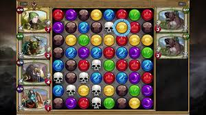 gems gems of war review a free to play puzzle rpg for xbox one and