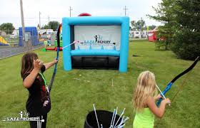 backyard archery set archery party cheer for your favorite team in style