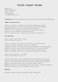 English Teacher Sample Resume by Sample Resume For English Teacher Job Templates