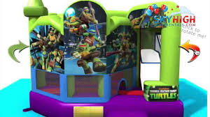 bounce house rentals houston tmnt turtles bounce house houston