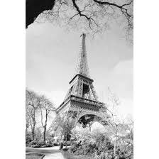 old time eiffel tower sketch canvas print wall art australia