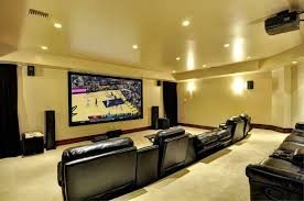 Home Theatre Sconces Traditional Home Theater With Carpet U0026 High Ceiling In Conway Ar