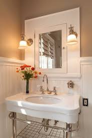 built in bathroom sink bathroom sinks decoration best 25 craftsman bathroom sinks ideas only on pinterest the first floor bathroom was returned to a period look with wainscoting and woodwork milled
