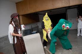 Gumby Halloween Costume Harnisch Family Cooke U0027s Halloween Party