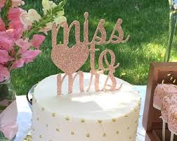 kitchen tea cake ideas bridal shower cake topper from miss to mrs cake topper