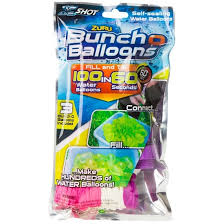 bunch balloons zuru bunch o balloons self sealing water balloons pink purple