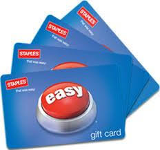 dip on staples gift cards at stop shop equals 20 in