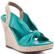 doze wedge turquoise corso como wedges and turquoise