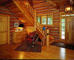 Log Home Interiors Photos Picking Paint Colors For Your Cabin