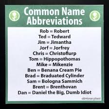Meme Name - common name abbreviations meme guy