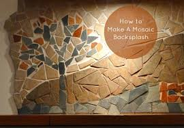 How To Do A Backsplash by How To Make A Mosaic Backsplash