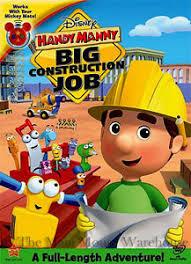 disney junior handy manny big construction job length kids