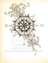 25 best ideas about vintage compass tattoo on pinterest