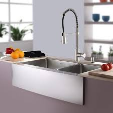 Kraus Kitchen Sinks Kraus Kitchen Combos 33 X 21 Basin Farmhouse Apron