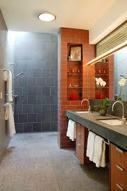 doorless walk in shower designs bathroom contemporary with ceiling