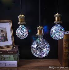 led edison string lights vintage globe edison light bulb led starry string lights 3w g80 g95