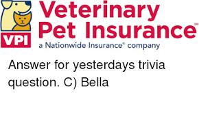 Pet Insurance Meme - veterinary pet insurance vpi a nationwide insurance company answer