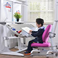 Purple Kids Desk Chair by Kids Study Desk Chair And Top Compartment With Wide Led Light 3 0