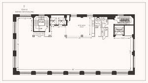 marriage hall floor plan nyc event party wedding space midtown loft terrace