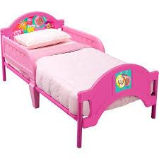 Bubble Guppies Bedroom Decor Delta Nickelodeon Bubble Guppies Toddler Bed Pink Walmart Com