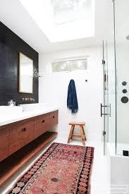 designer bathroom rugs impressive modern bathroom rugs 105 modern bath rug black