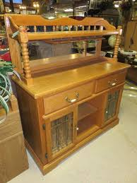 buffet cabinet wine bar storage kitchen server furniture rack