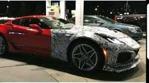 zr1 corvette barely disguised chevrolet corvette zr1 during gas station