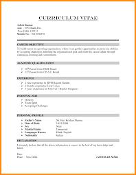 Academic Resume For College Applications Mfa Creative Writing Sample Resume