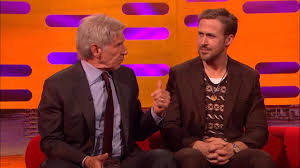 Sofa King Snl by Awkward Moment Harrison Ford Completely Forgets Ryan Gosling U0027s