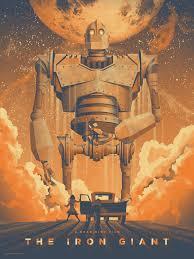 the iron giant the iron giant mondo art print dkng