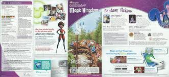 Magic Kingdom Disney World Map by Magic Kingdom Walt Disney World Florida U2013 S W Lothian Author