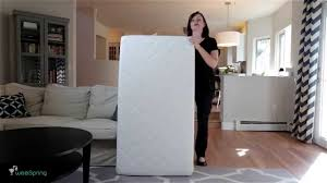 Safety 1st Heavenly Dreams Crib Mattress Reviews by Newton Crib Mattress Video Review From Weespring Youtube