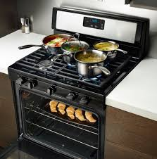 whirlpool wfg505m0bb 30 inch freestanding gas range with broiler