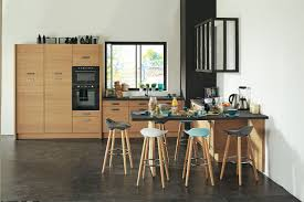 cuisine bois design indogate com cuisine gris perle