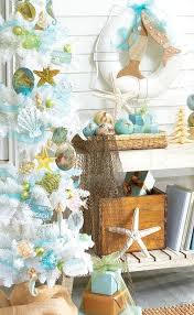 Cheap Beach Decor Stylish Design Coastal Christmas Decorations Top 14 Decor Ideas