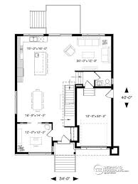house plans open floor house plan w3884 detail from drummondhouseplans