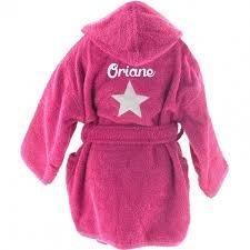 robe de chambre enfant fille peignoir enfant personnalisé all