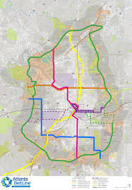Oakland Map Overview Maps Atlanta Beltline