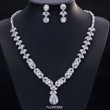 wedding necklace bride images Bridal jewelry sets wedding necklace wedding cubic zirconia jpg