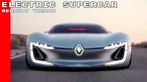 renault supercar renault trezor electric supercar concept youtube