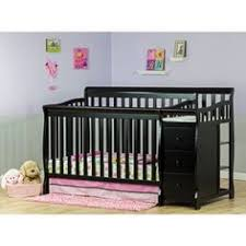 3 In 1 Mini Crib On Me Casco 3 In 1 Mini Crib And Dressing Table Combo Black