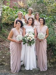 pink bridesmaid dresses v neck blush pink chiffon bridesmaid dress