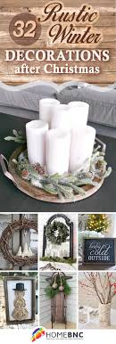 winter decorations 32 best rustic winter decor ideas and designs for 2018