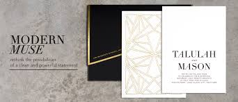 east six custom wedding invitations new york custom invitations
