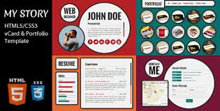 themes for my story 35 best responsive vcard wordpress themes designmaz