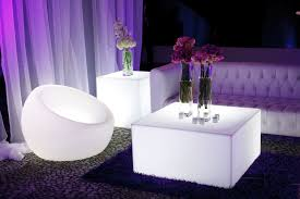 Outdoor Party Furniture Rental Los Angeles Lounge Furniture Lounge Area Led Furniture Illuminated Furniture