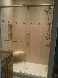 A1 Shower Door by Gallery A1 Glass Metro Mirror