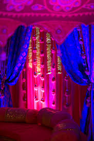 pre wedding festivities with bold color palette for nyc indian wedding