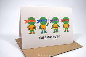 ninja turtle birthday card free ninja turtles birthday invitations